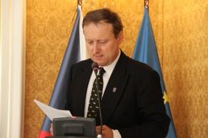 Tomáš Jakl z VHÚ při svém příspěvku