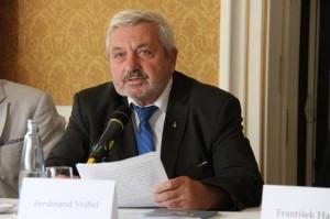 Ferdinand Vrábel ze Slovenskej akadémie vied