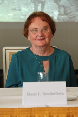 Marie L. Neudorflová z Masarykova ústavu a Akademie věd České republiky