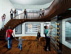 Vizualizace budoucí podoby Armádního muzea Žižkov