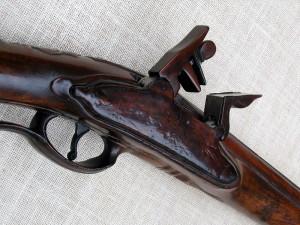Střední část pušky po restaurování. FOTO: Petr Moudrý