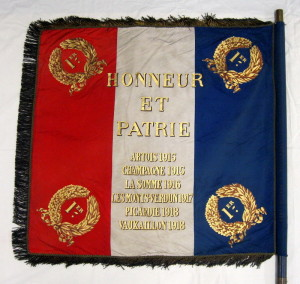 Prapor 2. pochodového pluku 1. pluku cizinecké legie