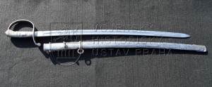 Rakousko-uherská šavle pro jízdní dělostřelce vzor 1877
