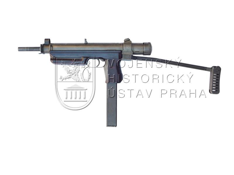 9mm samopal 25