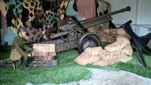 """10cm lehká houfnice Škoda vzor 39 """"H3"""""""