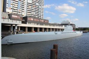 Ponorka U-2540/Wilhelm Bauer v Bremerhavenu