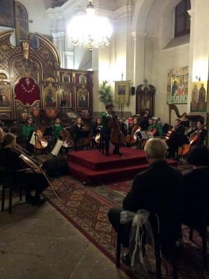 První Benefiční koncert pro Obranu národa