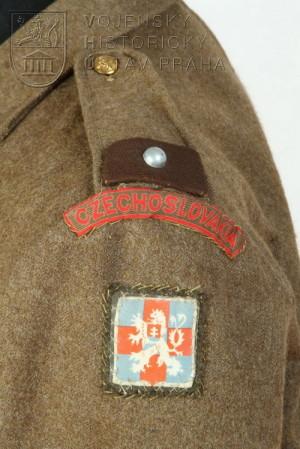 Blůza svobodníka ženistů, 1944.