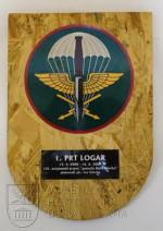 Cedule 1. kontingent AČR mise ISAF PRT Lógar