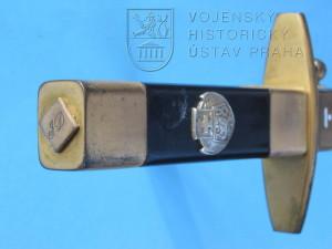 Francouzský letecký mečík vzor 1934, úprava pro československé piloty - dobrovolníky v letech 1939–1940
