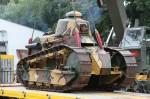 VHÚ má zapůjčený první tank československé armády, Renault FT-17