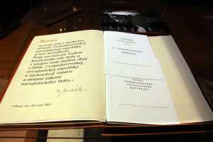 Prezidentský slib Gustáva Husáka z roku 1975
