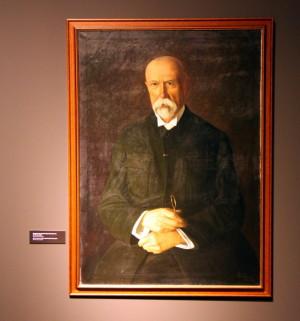 Portrét prezidenta Masaryka