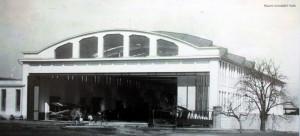 Největší hangár Letovu