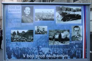 Panel výstavy