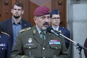 Náčelník Generálního štábu AČR, generálporučík Aleš Opata