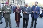 Výstava 100 let armády před Generálním štábem v Praze 6