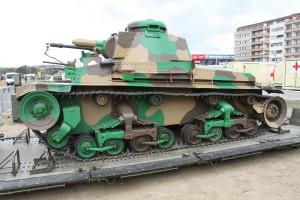 Tank Lt-35. Historické exponáty ze sbírek VHÚ na pražské Letné v rámci oslav 100. výročí založení republiky