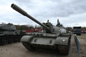 Tank T-55. Historické exponáty ze sbírek VHÚ na pražské Letné v rámci oslav 100. výročí založení republiky