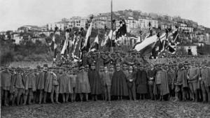 Prohlášení mobilizace čs. dobrovolníků v Padule, 15. dubna 1918