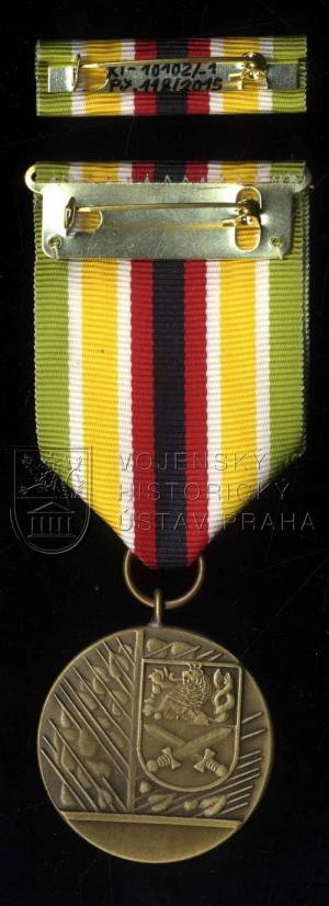 Medaile ministra obrany Za službu v zahraničí – mise MONUSCO, 3. stupeň