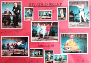 Památka na divadelní vystoupeni Divadla Sklep 7. 10. 2014 v Afghánistánu