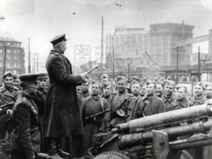 Shromáždění Rudé armády v Bratislavě, duben 1945
