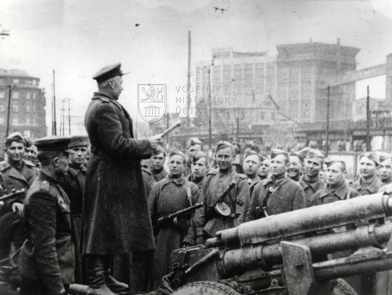 Rudá armáda v Ostravě