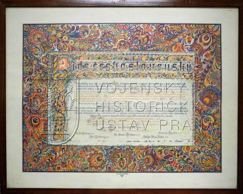 Lide československý, 28. říjen 1918