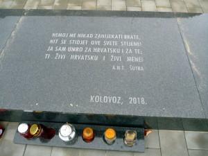 Verše chorvatského spisovatele Ante Nadomira Tadič-Šutry