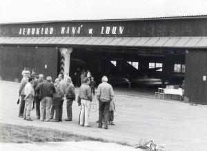 Hangár Aeroklubu Raná s kluzáky, 60.-80. léta