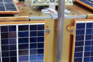 Solární panely a anténa po restartování.FOTO: Jakub König