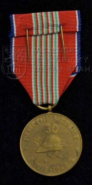 Pamětní medaile československého dobrovoleckého sboru v Itálii