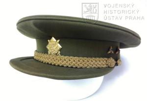 Vycházková čepice poručíka ženistů, 1938