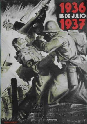 Plakáty z občanské války ve Španělsku, 1936–1937