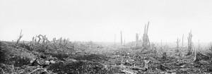Válka přinesla mimořádné zpustošení oblastí, kde probíhaly bojové fronty. Francie.