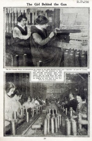 Válka přinesla i výrazné sociální změny, ženy se masově zapojily do pracovního procesu