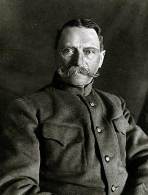 Generálmajor Jaroslav Červinka (1848–1933), inspektor čs. záložních vojsk od listopadu 1917 do března 1918 (VHÚ Praha)