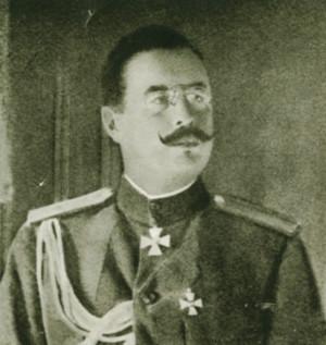 Generálporučík Nikolaj Nikolajevič Duchonin, náčelník štábu vrchního velitele, jenž podepsal 9. října 1917 rozkaz o zřízení samostatného čs. armádního sboru. (VHÚ Praha)
