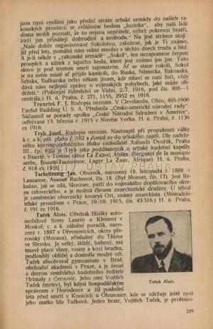 Záznam Josefa Tryba.