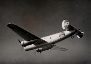 Fokker T.V v letu, konec 30. let