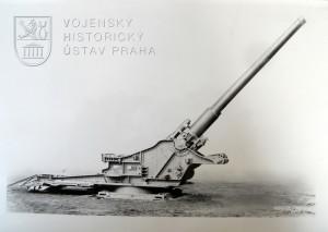 21cm pobřežní kanon Škoda