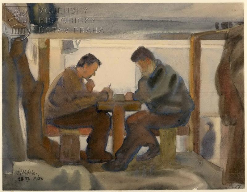 Jindřich Vlček, Pozdravy domů, 28. 12. 1916