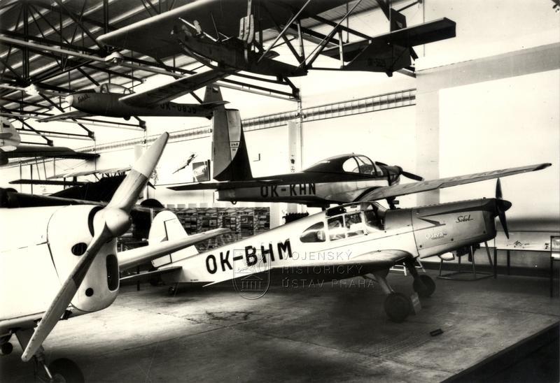 Sportovní letouny Sokol M-1C a Meta Sokol