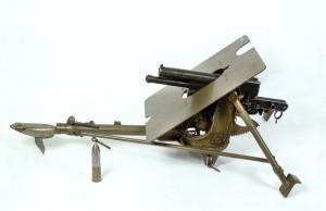 Rakousko-uherský 37mm zákopový kanon vz.15 ze sbírky VHÚ Praha. FOTO: VHÚ