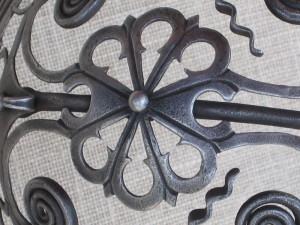 Detailní pohled na malou růžici po restaurování.FOTO: Petr Moudrý