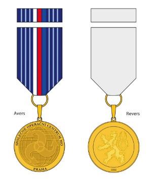 Pamětní odznak Společného operačního centra Ministerstva obrany.