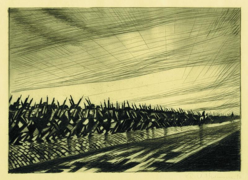 C. R. W. Nevinson: Grafiky války a míru
