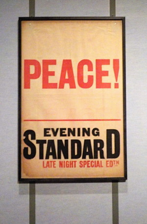 Součástí výstavy Obnova jsou také dobové plakáty. FOTO: Jaroslav Beránek