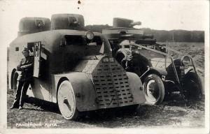 Obrněné automobily Škoda Fiat-Torino a Lancia 1Z v československých službách